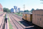 1014-31 C&NW local freight switches Burdick Elevators #1 & 2