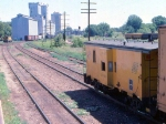 1014-32 C&NW local freight switches Burdick Elevators #1 & 2