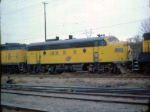 1024-36 Westbound C&NW freight at BN St. Anthony Jct.