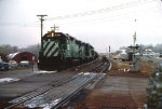 1026-01 Eastbound BN all-rail ore empties train