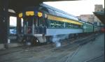 """1026-12 Business car 800043 C&O 3 """"Chapel Hill"""" at Mpls GN Depot"""