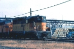 1031-27 Westbound MILW freight at Chestnut Street