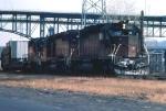 1031-33 Westbound MILW freight at Chestnut Street Jct.