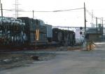 1031-34 Westbound MILW freight at Chestnut Street Jct.