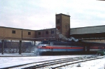 1032-07 Amtrak switching at Mpls GN Depot