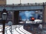 1032-14 Amtrak coach-only Twin City Hiawatha departs Mpls GN Depot