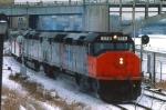 1032-17 Amtrak coach-only Twin City Hiawatha departs Mpls GN Depot