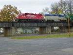 Canadian Pacific 7305 and Delaware and Hudson 7303