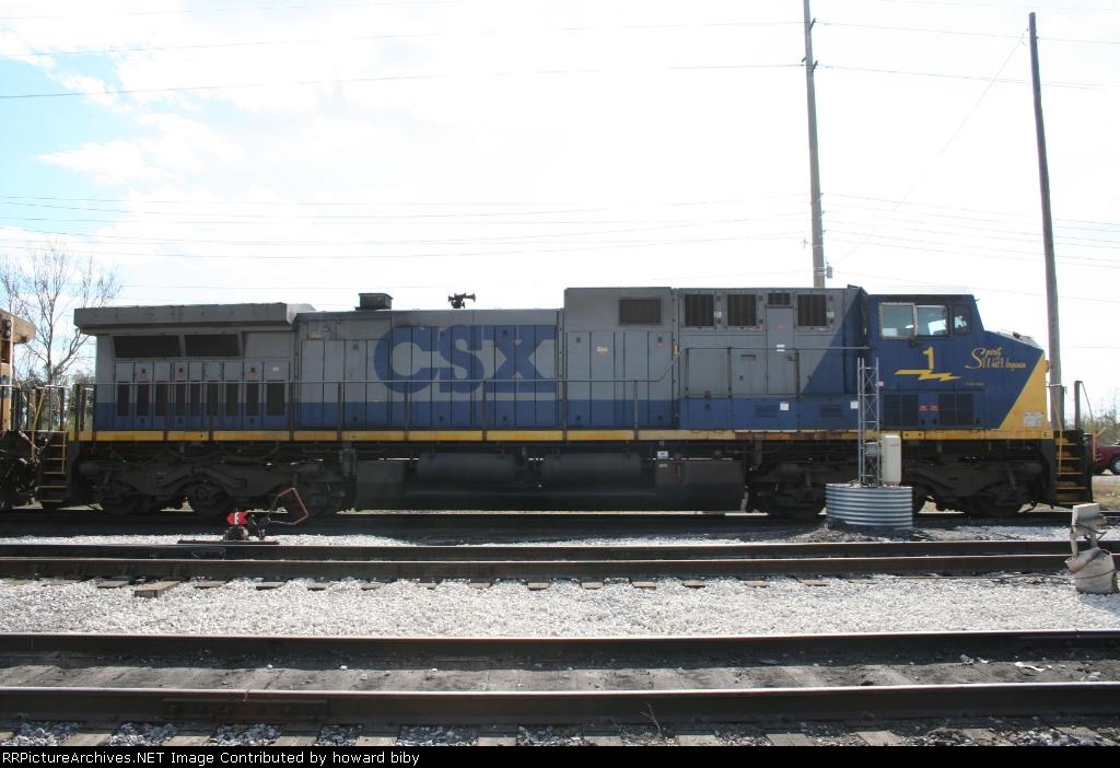CSX 1..the class unit