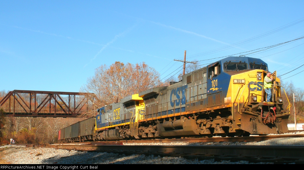 CSX 101 and 606
