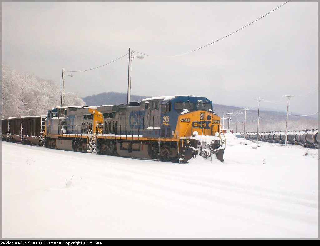 CSX 205 and 155