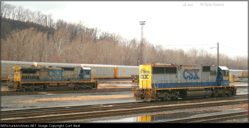 CSX 7554 and 8530