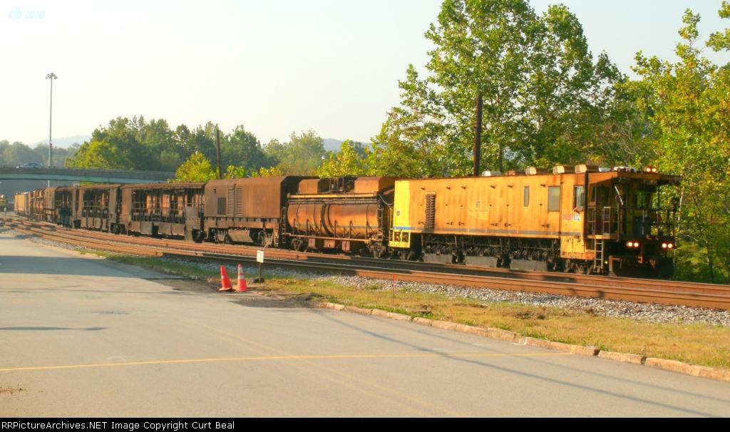 RMSX 1012 Rail Grinding Train