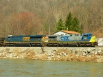 CSX 414 and 791