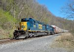 CSX 4008 and HLCX 8164