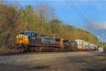 CSX 9046 and 7879