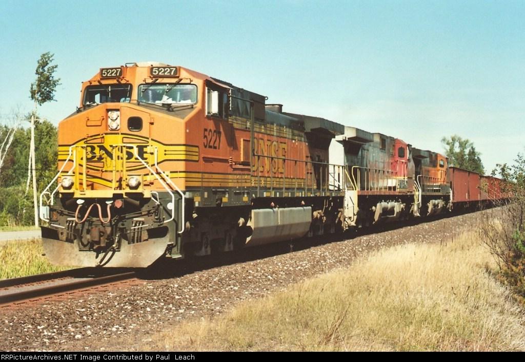 All-rail ore train heads south