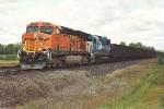 Southbound all-rail ore train