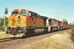 All-rail ore train heads south