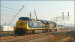 CSX 458 and 744
