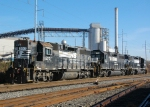 Four axles work Finley Yard & ACIPCO