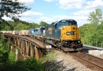 CSX G568 over Mulberry Fork Warrior River
