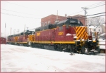 SWP 2001, 2002, and 2003, in snow