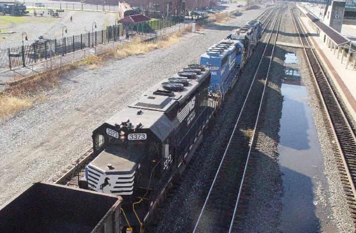 Helpers for that same coal train