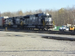 Norfolk Southern 2569, 9050, and 9682
