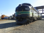 F units at Steamtown.