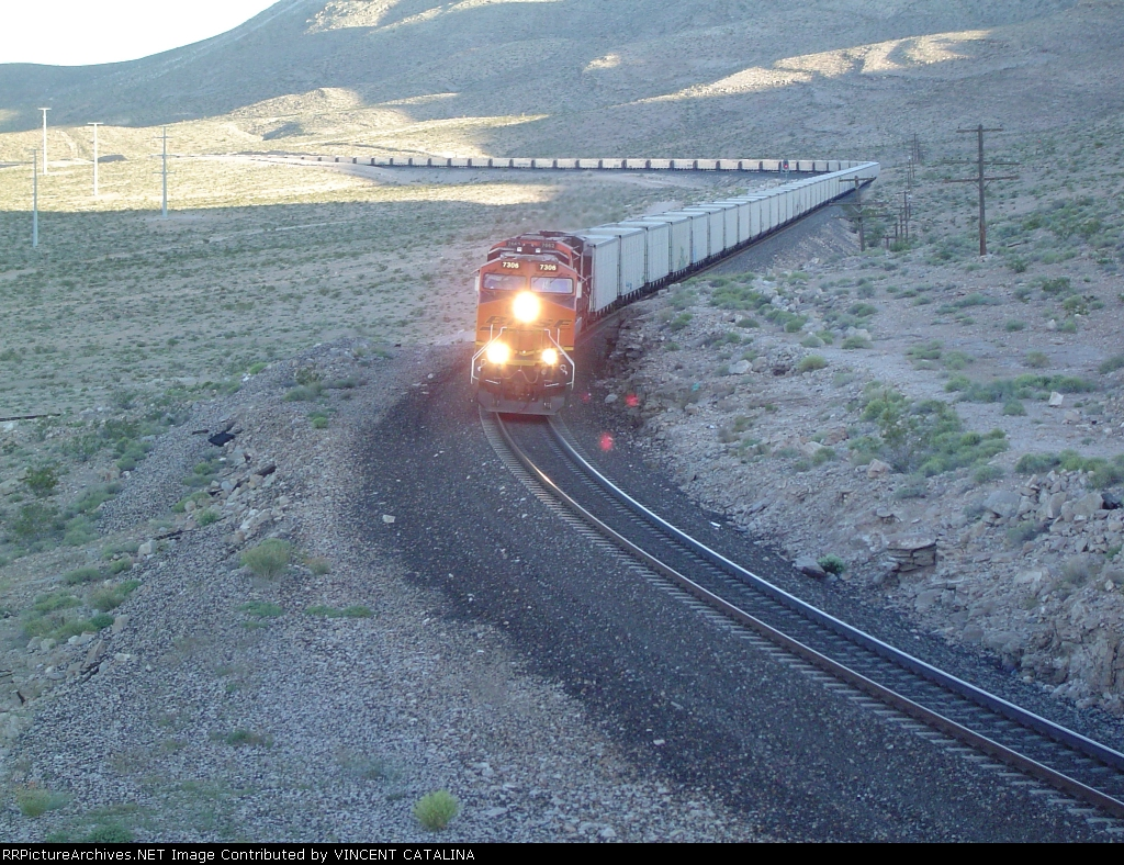 BNSF 7306 -Empty Coal Run-