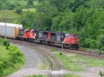 CN 5647, CN 5630 & CN 7081 at mile 0.3 of the Dundas Sub