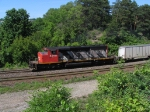 CN 5248 hauling the Triple Crown Service