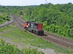 CN 5654 Going down the Dundas Sub