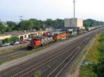 CN 5291, TWO BNSF & IC