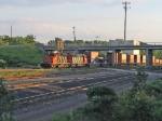 CN 5348 & CN 5518 HAULING STACK TRAIN