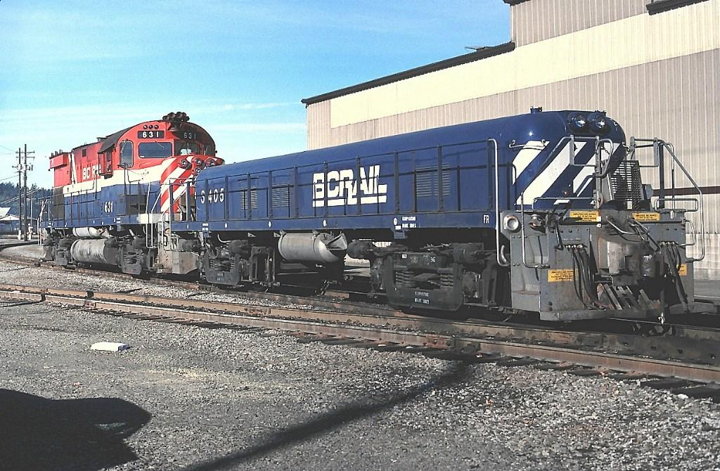 BC Rail slug set