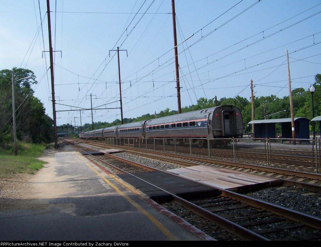 Amtrak Flies By