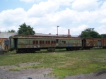 Chessie Passenger Car at B&O Museum Off Site Storage
