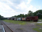 Rolling Stock Stored at B&O Museum