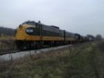 Peoria & Western train ready to head west.
