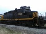 Peoria & Western train.