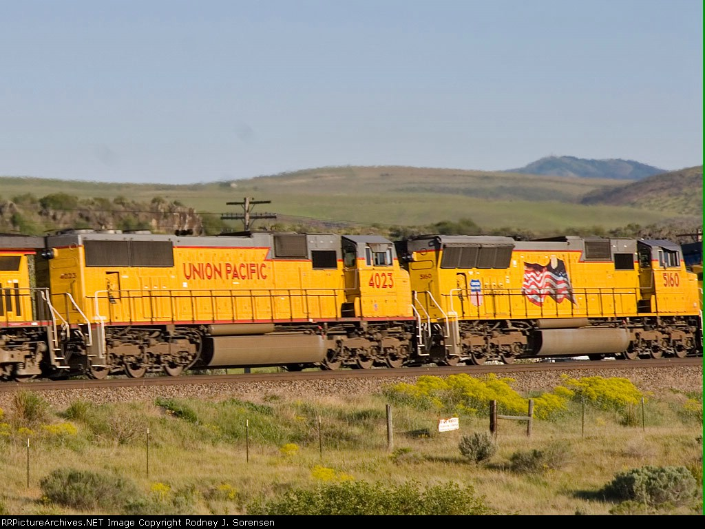 UP 4023 & UP 5160