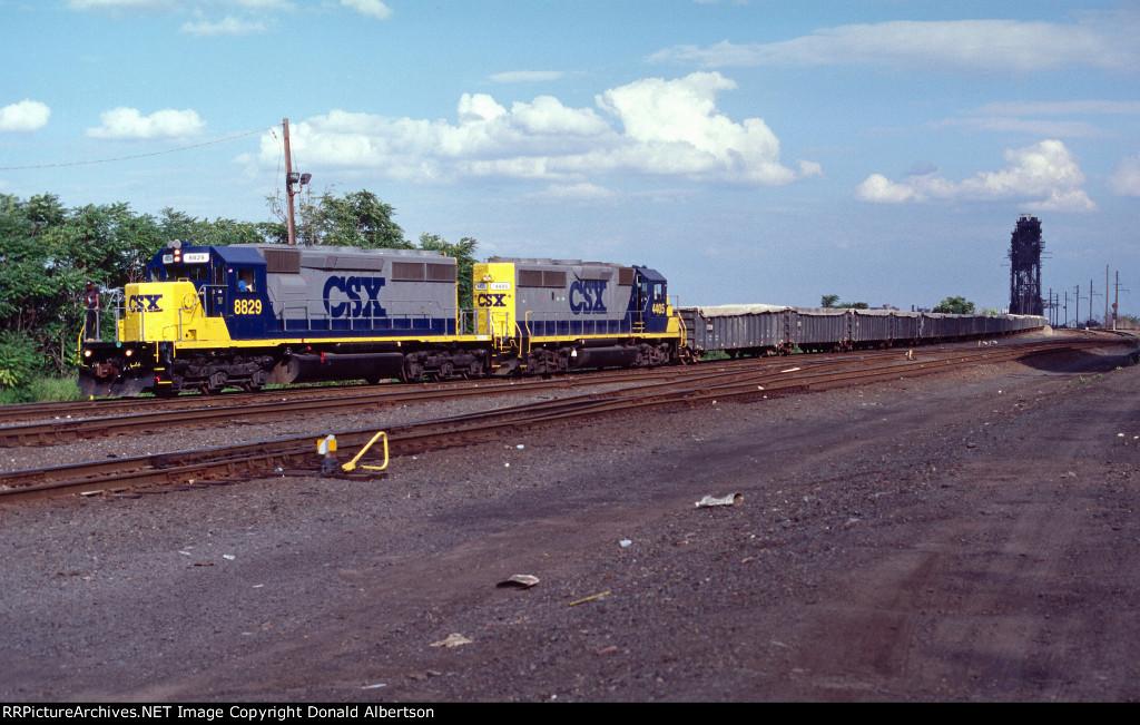 CSX garbage train