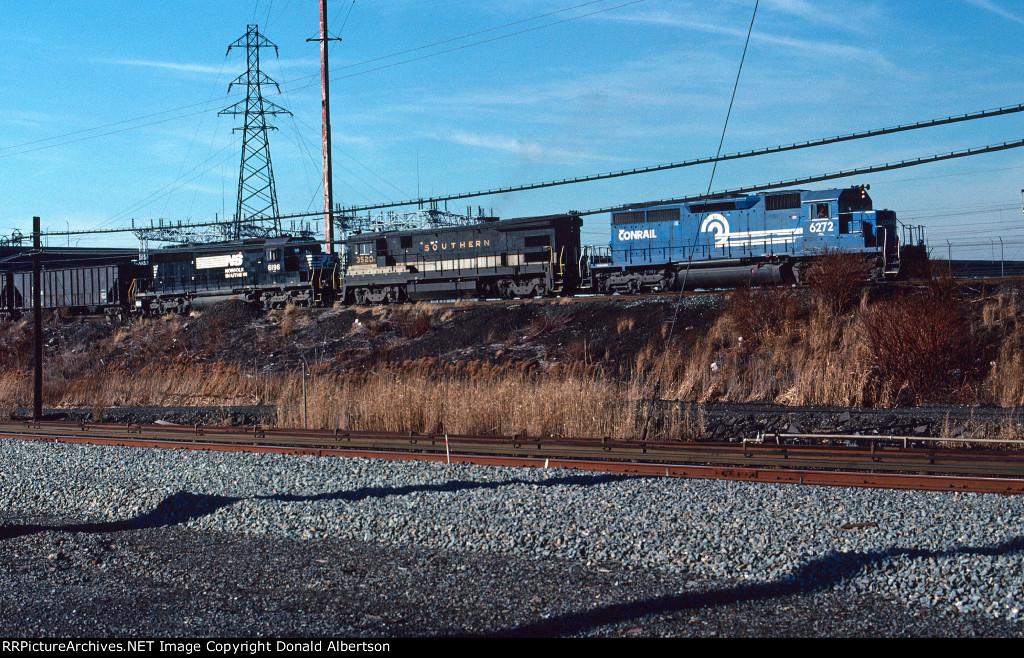 Conrail UOR coal train