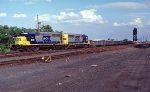 CSX garbage train