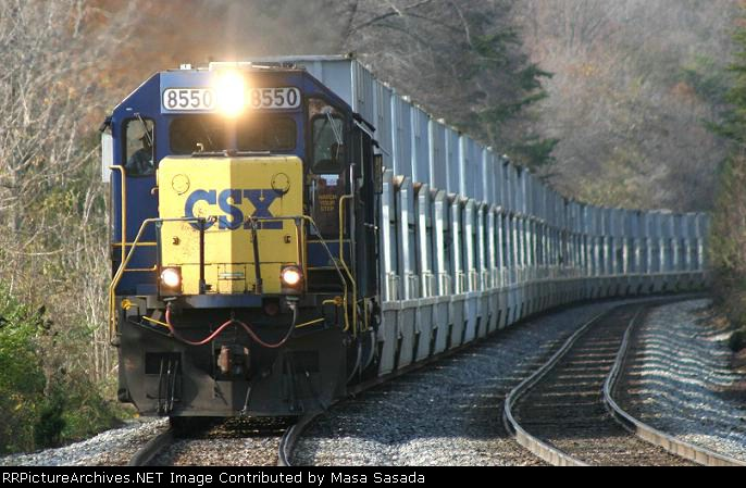 D765 Intermodal trash train