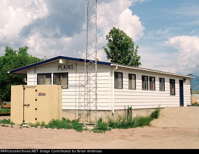 Plains depot