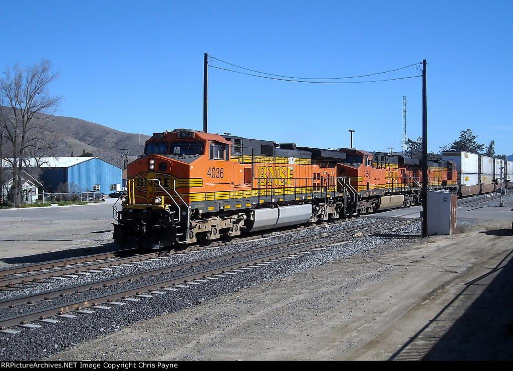 BNSF #4036, #7656 & #5242