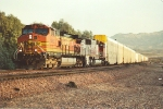 Westbound autoracks